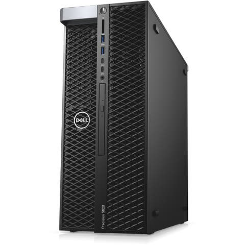 Dell Precision 5820 Desktop Intel Xeon W-2104 32GB RAM 2 x 500GB HDD Nvidia Quadro P400 Win10 Pro (Refurbished)