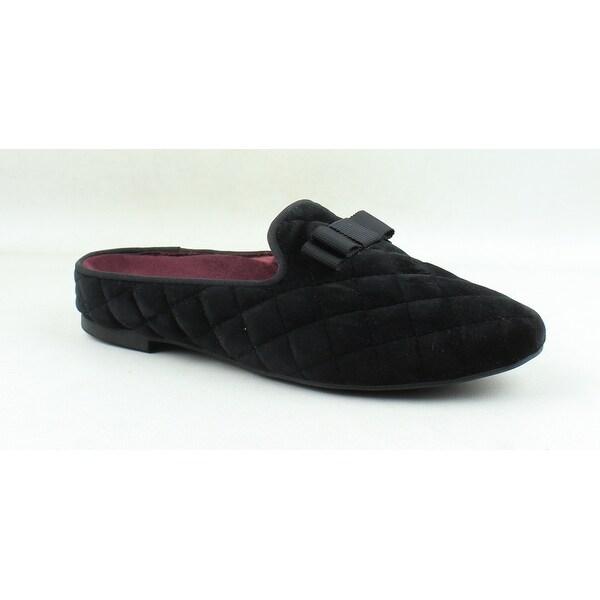 Vionic Womens Snug Eloise Black Mule Slippers Size 7