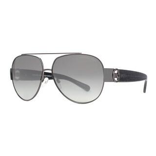 MICHAEL KORS Aviator MK 5012 Tabitha II Women's 1071 11 Gunmetal Gray Gray Gradient Sunglasses - 59mm-12mm-135mm