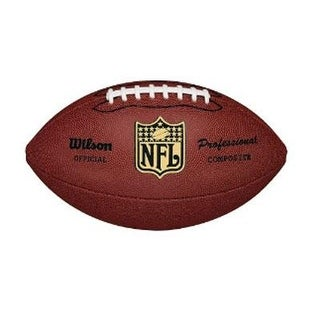 Wilson Sports Wtf1825 Nfl Pro Replica Football,Premium Composite Leather Cover