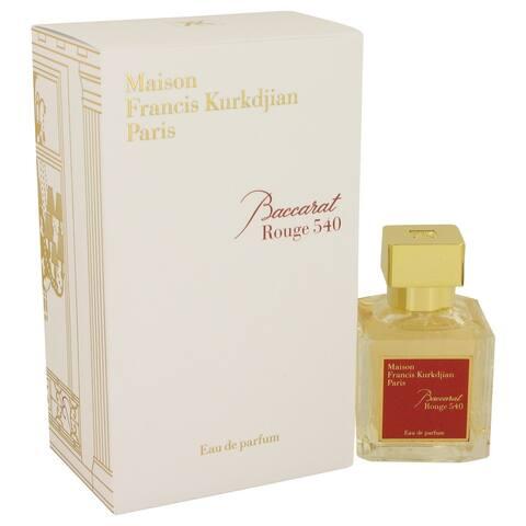 Baccarat Rouge 540 by Maison Francis Kurkdjian Eau De Parfum Spray 2.4 oz