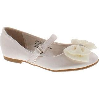 Little Angel Girls Little Angel Flats Shoes - Ivory