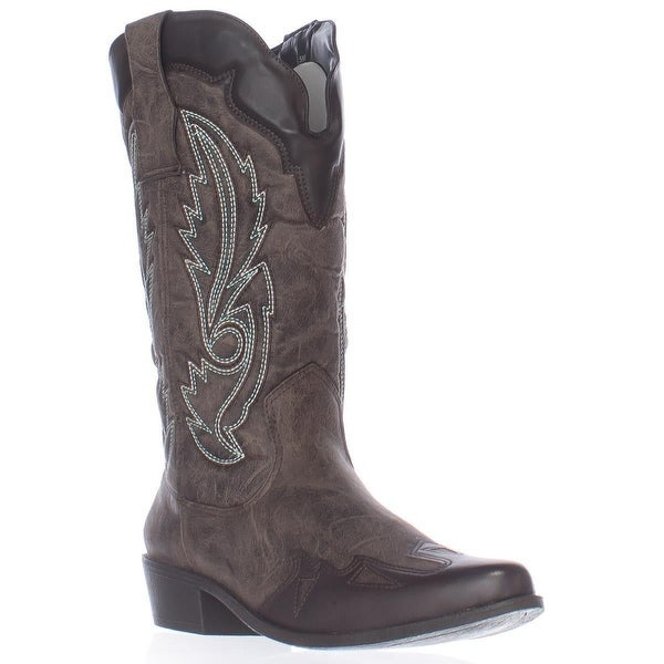 Dolce by Mojo Moxy Quiggly Western Boots, Espresso