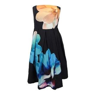 City Chic Women's Trendy Plus Size Midi Dress - Black - 16W