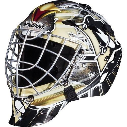 Pittsburgh Penguins Full Size Youth Goalie Hockey Mask