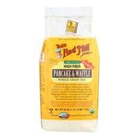 Bob's Red Mill Organic High Fiber Pancake and Waffle Mix - 26 oz - Case of 4