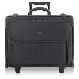 "Solo Classic Carrying Case (Roller) for 17"" Notebook - Black - (Refurbished)"