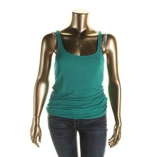 Lucky Brand Womens Tank Top Stretch Sleeveless
