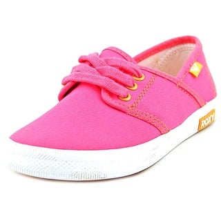 Roxy Hermosa Round Toe Canvas Sneakers