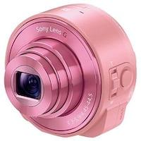Sony lens style camera Cyber-shot DSC-QX10 (Pink) (International Model)