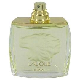 LALIQUE by Lalique Eau De Parfum Spray (Lion Tester) 2.5 oz - Men