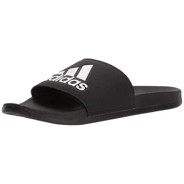 35cc34bb418d ... Men s Sandals. Adidas Men  x27 s Adilette Comfort Slide Sandal  Black White