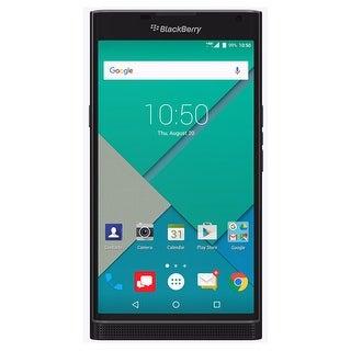 BlackBerry PRIV STV100-1 32GB AT&T Unlocked 4G LTE Hexa-Core Phone w/ 18MP Camera - Black (Certified Refurbished)
