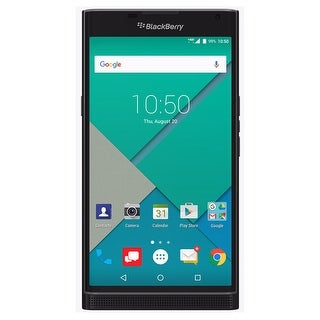 BlackBerry PRIV STV100-2 32GB Unlocked GSM 4G LTE Hexa-Core Phone w/ 18MP Camera - Black (Certified Refurbished)