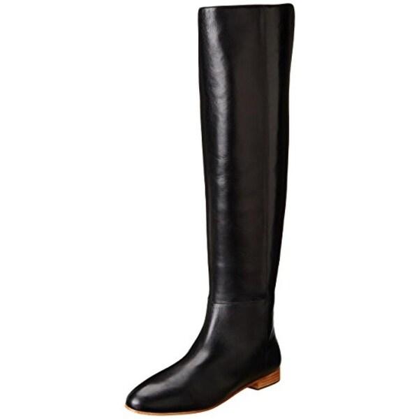 Loeffler Randall Womens Milou Riding Boots Leather Knee-High - 5.5 medium (b,m)