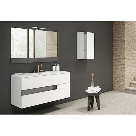 "Lucena Bath 48"" Vision Vanity with Ceramic Sink"