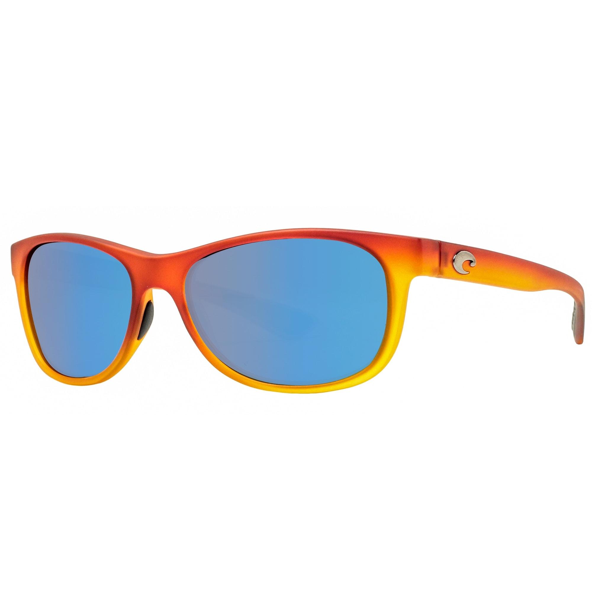 Costa Del Mar Prop Polarized Sunglasses-Sunset Fade//Blue Mirror 400G Glass Lens