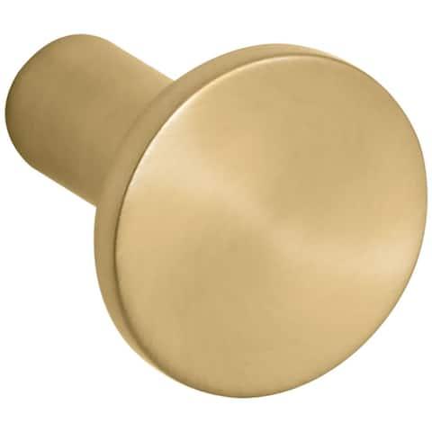 """Kohler K-14484 Purist 1-1/16"""" Mushroom Cabinet Knob"""