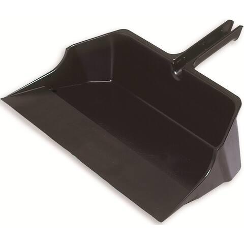 """Rubbermaid FG9B6000BLA Jumbo Dust Pan, 22"""", Black"""