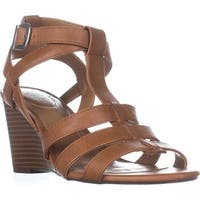 SC35 Haydar Wedge Sandals, Coffee