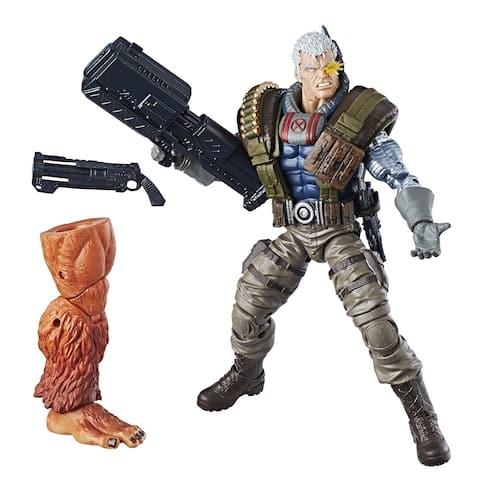 "Marvel Legends BAF Sasquatch Series 6"" Action Figure: Cable - multi"