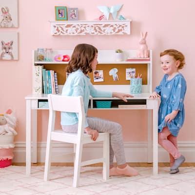Martha Stewart Kid's Desk with Hutch and Chair