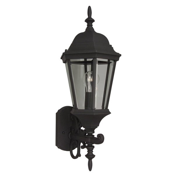 "Craftmade Z250 Straight Glass 24"" 1-Light Outdoor Wall Sconce - N/A"