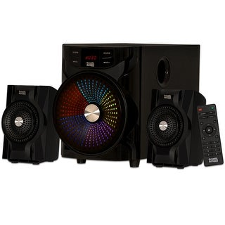 Acoustic Audio AA2104 Bluetooth Home 2.1 Speaker System with LED Display and USB