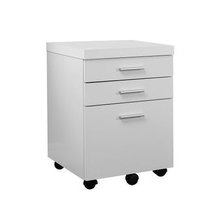 Monarch Specialties File cabinet III File Storage Cabinet with 3 Drawers and Castors