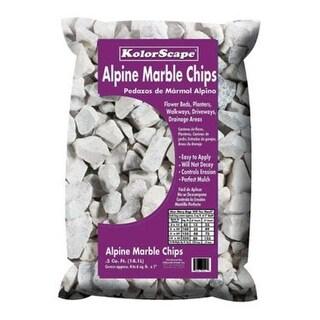 Kolorscape 40200450 Alpine White Marble, 0.5 cubic feet