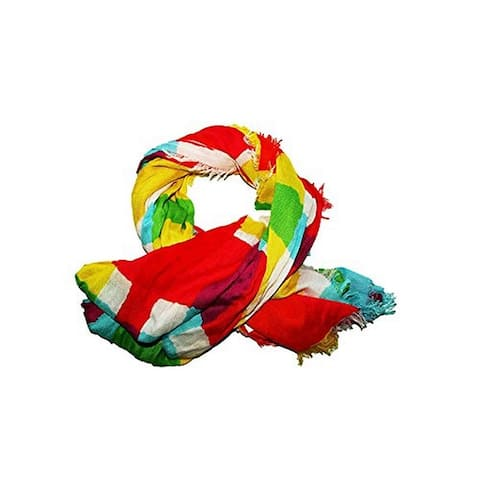 Echo Women's Colorful Fancy Free Patches Multicolor Scarf (One Size)