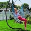 Sunnydaze Hanging Hammock Swing - Multiple Colors - Thumbnail 64