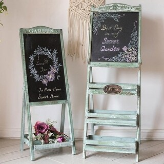 RusticReach 'Garden' Chalkboard Easel Display
