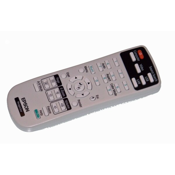Epson Remote Control Shipped With: BrightLink 425Wi, 430i, 435Wi, 475Wi, 480i
