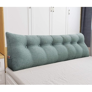 Link to WOWMAX Bed Rest Wedge Bolster Lumbar Bunk Daybed Pillow Similar Items in Decorative Accessories