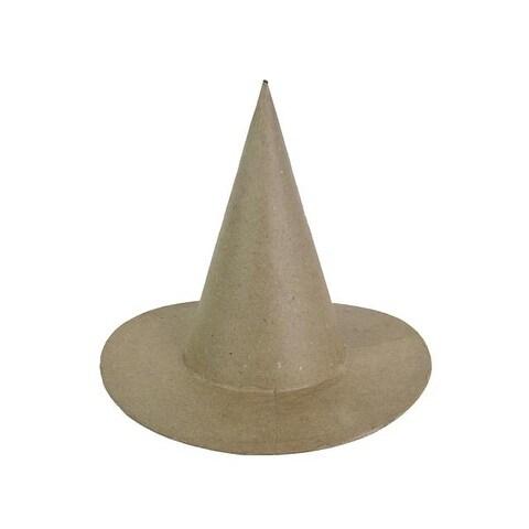 """PA Paper Mache Witch Hat Medium 8"""""""