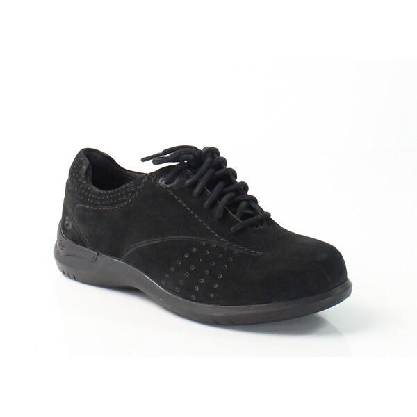 Aravon NEW Black Women's Shoes Size 6N Farren Suede Sneaker