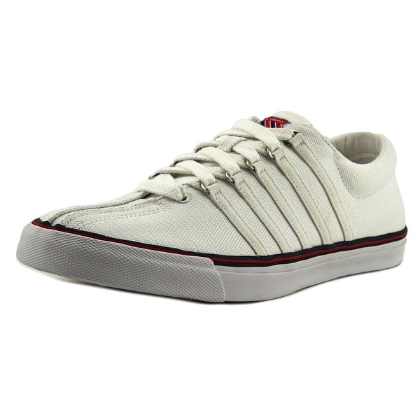 K-Swiss Surf 'N Turf Men Round Toe Canvas White Sneakers