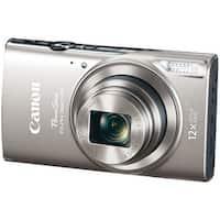 Canon 1078C001 20.2-Megapixel Powershot(R) Elph(R) 360 Hs Digital Camera (Silver)