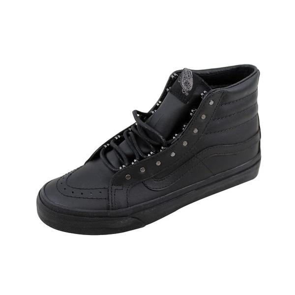 Vans Men's SK8 Hi Slim Gunmetal/Black Rivet VN00018IJV1