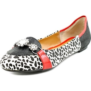 J. Renee Dolle Women W Round Toe Synthetic Multi Color Flats