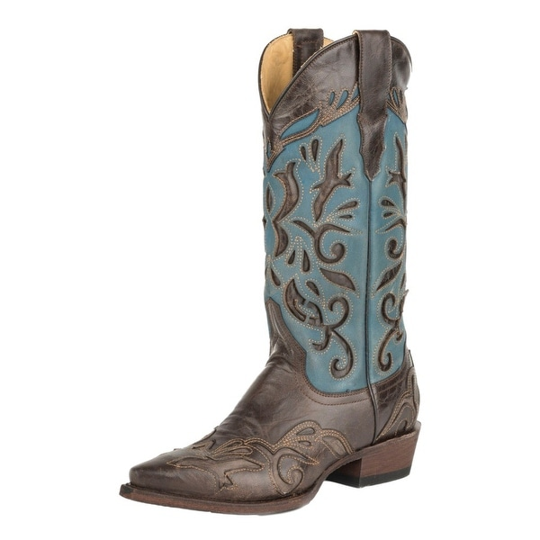 Stetson Western Boots Womens Poloma Goat Leather