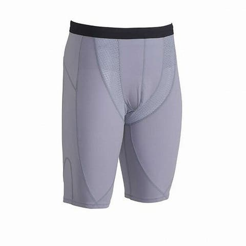 CW-X Mens Activewear Shorts Gray Size Large L Vented Compression