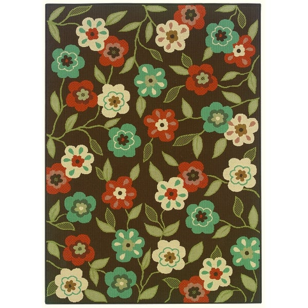 Millau Outdoor/Casual Floral Abstract Area Rug. Opens flyout.