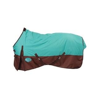 "Tough-1 Sheet Waterproof Nylon Leg Straps Buckle 84"" Turquoise"