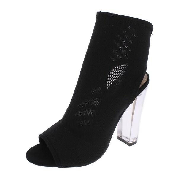 Steve Madden Womens Viola Booties Open Toe Ankle