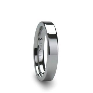 THORSTEN - SPARTAN Flat Tungsten Ring - 4mm