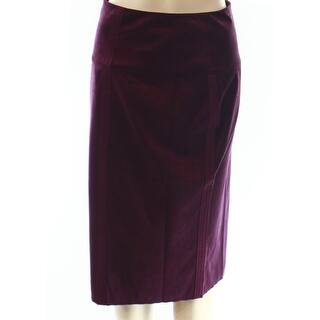 INC NEW Port Red Women 4 Asymmetrical Straight Pencil Faux-Suede Skirt|https://ak1.ostkcdn.com/images/products/is/images/direct/84c5979b2acd19aa5aed53f0cebacdc656aea564/INC-NEW-Port-Red-Women-4-Asymmetrical-Straight-Pencil-Faux-Suede-Skirt.jpg?impolicy=medium