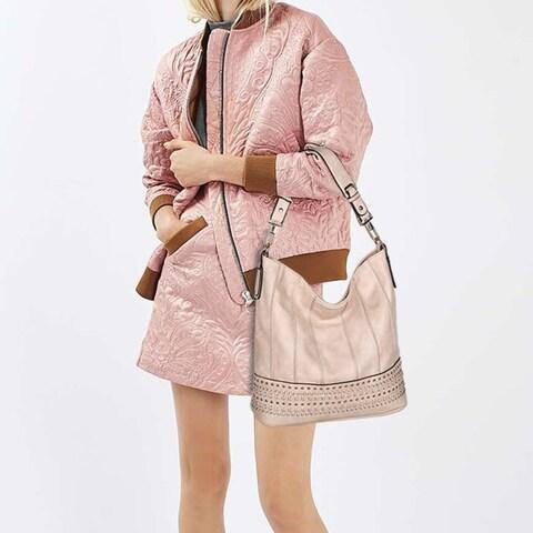 MKF Collection Elegant Tessa Hobo Handbag by Mia K. Farrow