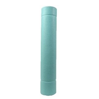 TKO Essential Yoga & Pilates Mat w/Carry Strap, Sea Foam - Sea Foam